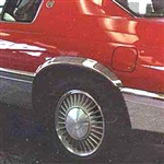 Cadillac Eldorado Wheel Well Fender Trim Set, 1992, 1993, 1994, 1996, 1996, 1997, 1998, 1999, 2000, 2001, 2002, 2003, 2004, 2005