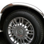 Lincoln Town Car Chrome Wheel Well Fender Trim, 1990 - 2011