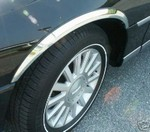 Lincoln Continental Chrome Wheel Well Fender Trim, 1989, 1990, 1991, 1992, 1993, 1994