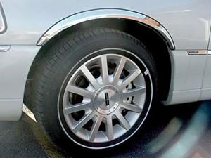 1998 2002 Lincoln Town Car Wheel Well Fender Trim