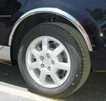 Cadillac CTS Wheel Well Fender Trim, 2003, 2004, 2005, 2006, 2007