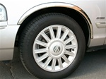 Mercury Grand Marquis GS Chrome Fender Trim, 2003-2011