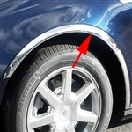 Cadillac STS Chrome Wheel Well Fender Trim, 2005, 2006, 2007, 2008, 2009, 2010, 2011