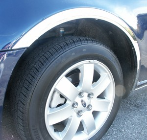 Ford Taurus Chrome Wheel Well Fender Trim 4pc 2008 2009