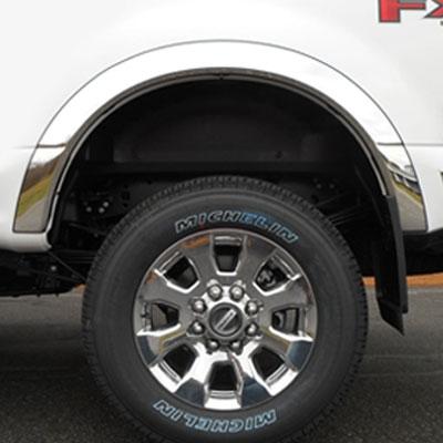 Ford Super Duty Chrome Wheel Well Fender Trim 2017 2018 2019 2020 Shopsar Com