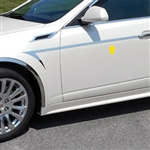 Cadillac CTS Sport Wagon Chrome Side Accent Trim, 2010, 2011, 2012, 2013, 2014
