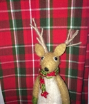 Beautiful Red & Green Tartan Plaid Cotton Kitchen Towel ~ Christmas