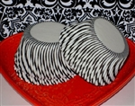 Black & White Candy Stripe Paper Cupcake Liners Baking Cups FUN