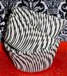 Black & White Candy Stripe Paper Cupcake Liners Baking Cups BULK 500