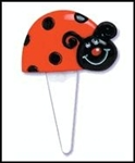 Lady Bug Cupcake Picks Cupcake Toppers Cute LOVE BUG!