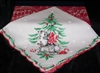 Darling Little Doggie Christmas Handkerchief Schnauzer or Terrier