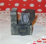 Tiny KISS and 2 HUGS Vintage printers Blocks Letterpress Blocks XOO