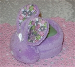 Softest Boo Boo Bunny Darling for Baby or Toddlers Lavender