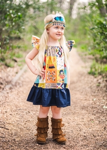 American Princess Dress - 2 - 3 years