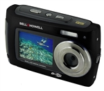 BELL+HOWELL® 2VIEW 18.0MP HD Dual Screen Digital & Video Camera (Waterproof to 10 ft.) (Black)