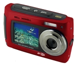BELL+HOWELL® 2VIEW 18.0MP HD Dual Screen Digital & Video Camera (Waterproof to 10 ft.) (Red)