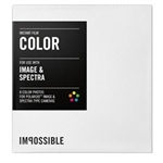 Polaroid Spectra (Image) Film is a general-purpose, high-speed, medium-contrast, integral film for high-definition instant color prints.