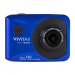 DVR 786HD Waterproof ActionCam- includes bike/AVT mount (Blue)