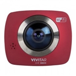 360Cam- with built in WiFi (Red)