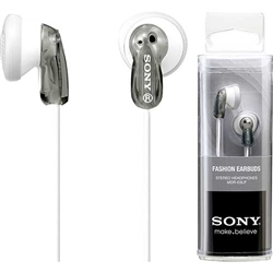 Sony  MDR-E9LP/GRAY Earbud Headphones, Gray
