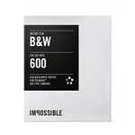 Impossible Black and White Film for Polaroid 600-Type Cameras