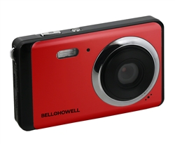 BELL+HOWELL® Slim 20.0MP / HD Digital & Video Camera (Red)