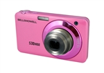 BELL+HOWELL® Slim 15.0MP Digital Camera & HD Video w/5X Wide-Angle Optical Zoom-PINK