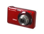 BELL+HOWELL® Slim 15.0MP Digital Camera & HD Video w/5X Wide-Angle Optical Zoom-RED