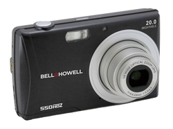 BELL+HOWELL® Slim 20.0MP Digital Camera & HD Video w/5X Wide-Angle Optical Zoom (Black)