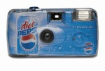 Create your own fully custom, colorful camera. A crystal clear shell accentuates your full color design.