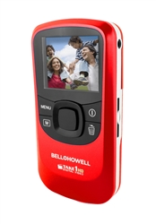 BELL+HOWELL® Take-1 720 High Definition Flip Camcorder & 5.0 Digital Camera (Red)