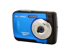 BELL+HOWELL® Splash 12.0MP Underwater Digital & Video Camera (Waterproof to 10 ft.) (Blue)