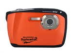 BELL+HOWELL® Splash2 16.0MP / HD Underwater Digital & Video Camera (Waterproof to 10 ft.)-ORANGE