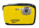 BELL+HOWELL® Splash2 16.0MP / HD Underwater Digital & Video Camera (Waterproof to 10 ft.)-YELLOW
