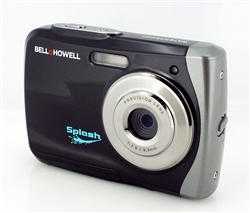 BELL+HOWELL® Splash 12.0MP Underwater Digital & Video Camera (Waterproof to 10 ft.) (Black)