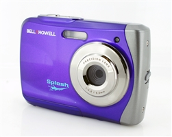 BELL+HOWELL® Splash 12.0MP Underwater Digital & Video Camera (Waterproof to 10 ft.) (Purple)