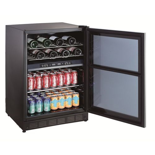 "Magic Chef BTWB530ST 24"" Dual Zone Built-in Wine"