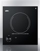 "Summit CR1115 12"" Smoothtop Electric Cooktop Black Ceramic Glass 115 Volts"