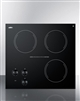 "Summit CR3240 21"" Smoothtop Electric Cooktop 3 Radiant Elements 230V"
