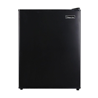 Magic Chef MCAR240B2 2.4 Cu Ft Compact Mini All Refrigerator  Black
