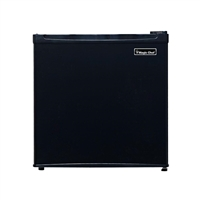 Magic Chef MCBR160B2 1.6 cu. ft. Mini Refrigerator Freezer Black