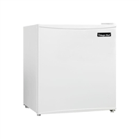 Magic Chef MCBR160W2 1.6 cu. ft. Mini Refrigerator Freezer White