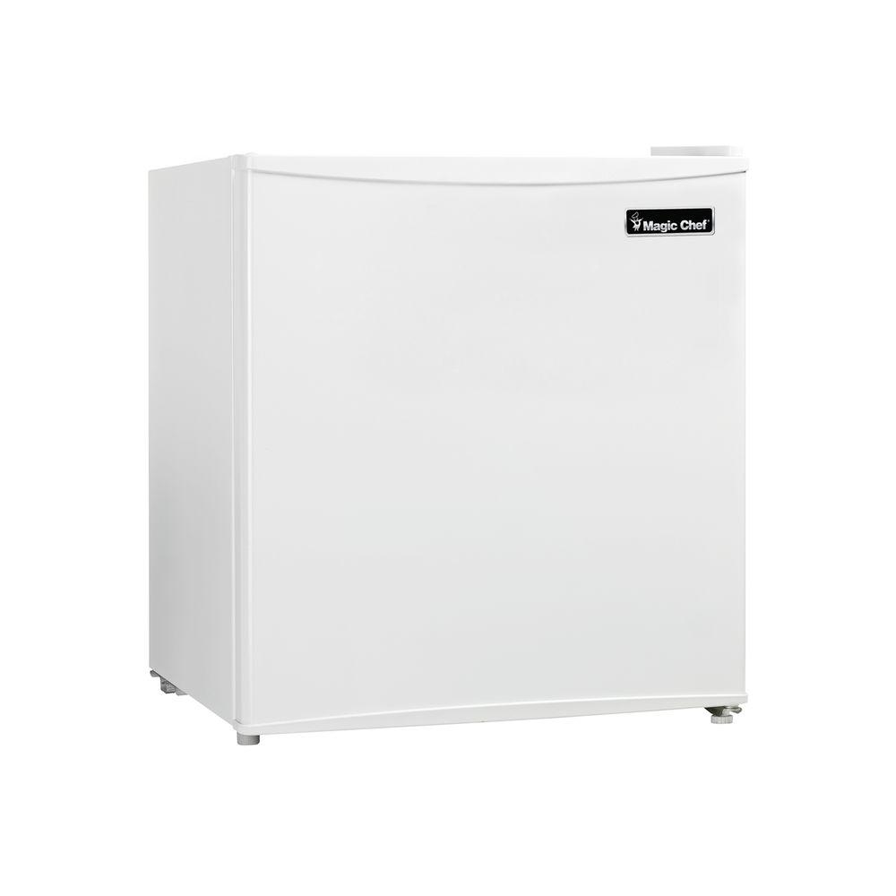 Magic Chef MCBR160W2 1.6 Cu. Ft. Mini Refrigerator Freezer