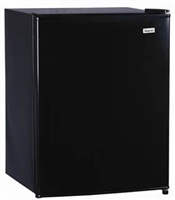 Magic Chef MCBR240B1 2.4 cu. ft. Mini Refrigerator Freezer  Black