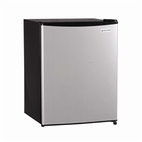 Magic Chef MCBR240S1 2.4 cu. ft. Mini Refrigerator Freezer