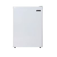 Magic Chef MCBR240W1 2.4 cu. ft. Mini Refrigerator Freezer White