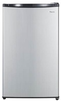 Magic Chef MCBR440S2  4.4 Cu Ft Compact Refrigerator Freezer