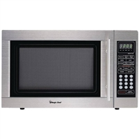 Magic Chef MCD1310ST 1.3 Cubic-ft 1000-Watt Microwave Stainless Steel