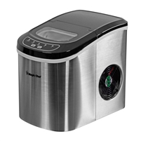 Magic Chef MCIM22ST Tabletop Countertop Ice Maker Portable Stainless