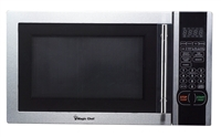 Magic Chef MCM1110ST Stainless Steel Microwave Oven 1.1 cu ft 1000 Watts